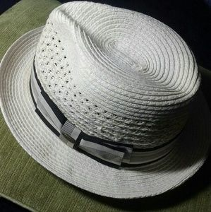 Scala Mens Toyo Fedora Hat Size Medium
